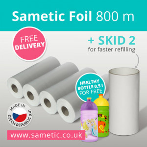 Tommee Tippee Sangenic - 800 meters of alternative filling for nappy disposal system | Sametic | + SKID for free + free worldwide delivery + healthy bottle