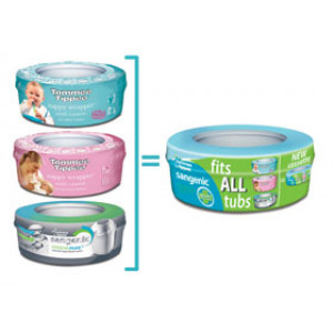 Tommee Tippee® Sangenic® refill cassette Fits All Tubs
